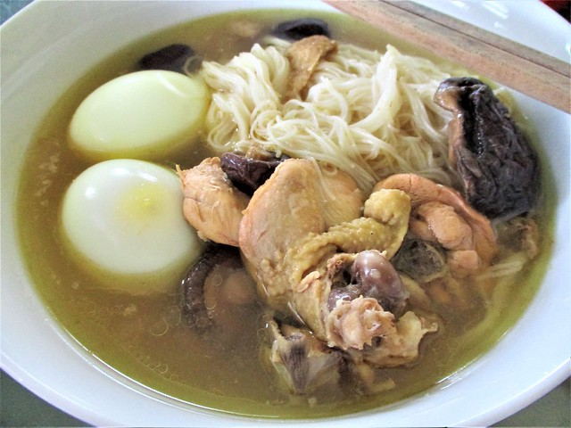 Traditional Foochow longevity mee sua