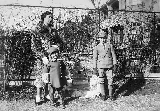 Harding Klimanek family in Shanghai, ca. 1933