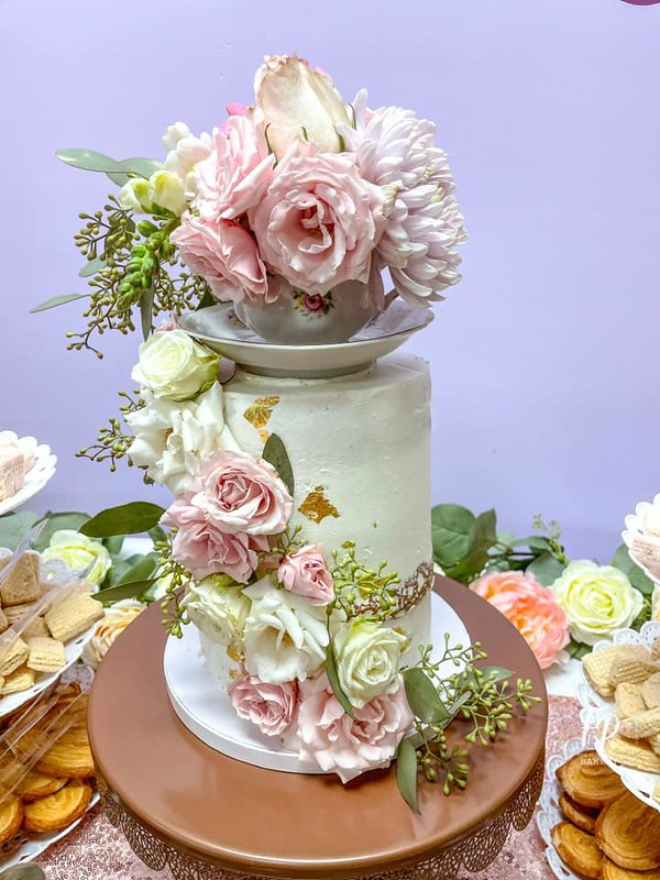 Cake by The Flour Petal Bakery