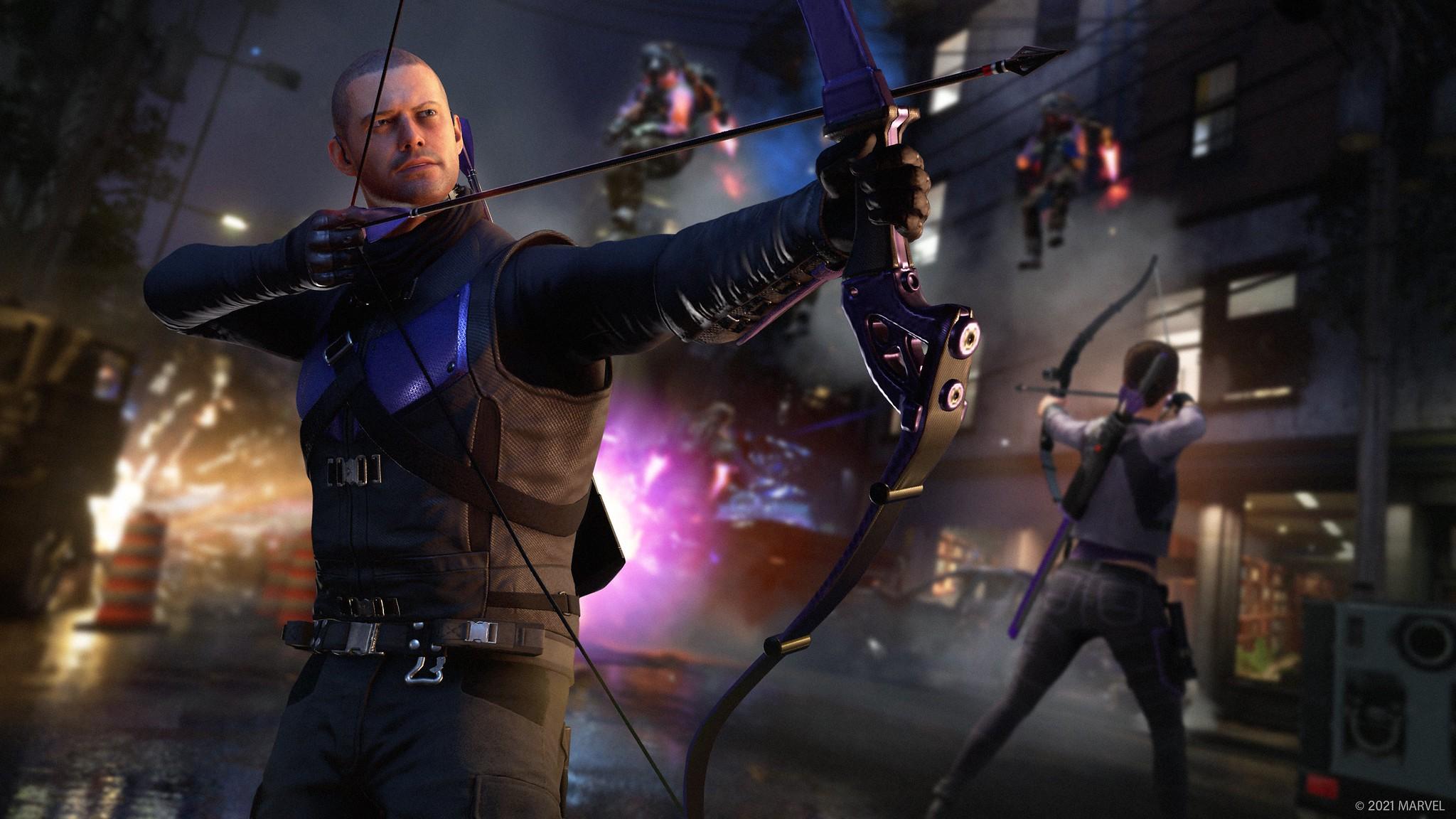 Hawkeye erscheint am 18. März für Marvel's Avengers – Der deutschsprachige  PlayStation Blog