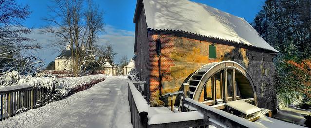 Hünxe - Schloss Gartrop Wassermühle 06