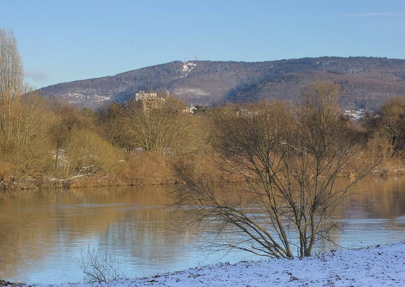 Königsstuhl und Neckar