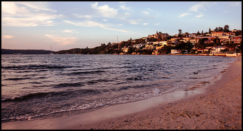 beach sunset bay harbour rosebay rosebaybeach sydney sydneyharbour dusk vaucluse kincoppalcollege