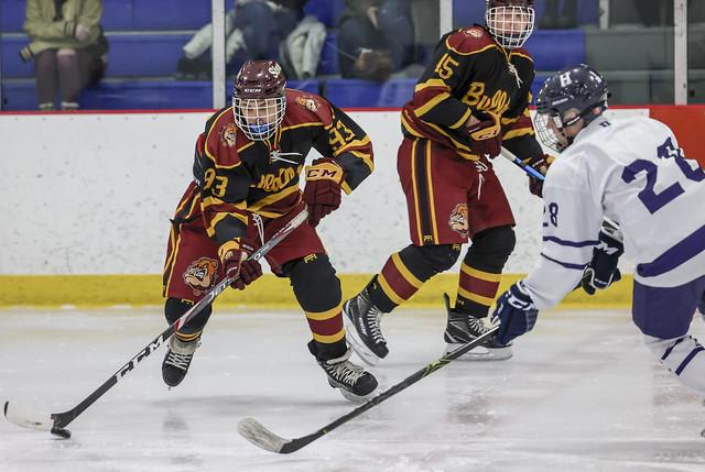 Hockey vs Stow @ Gilmour Academy