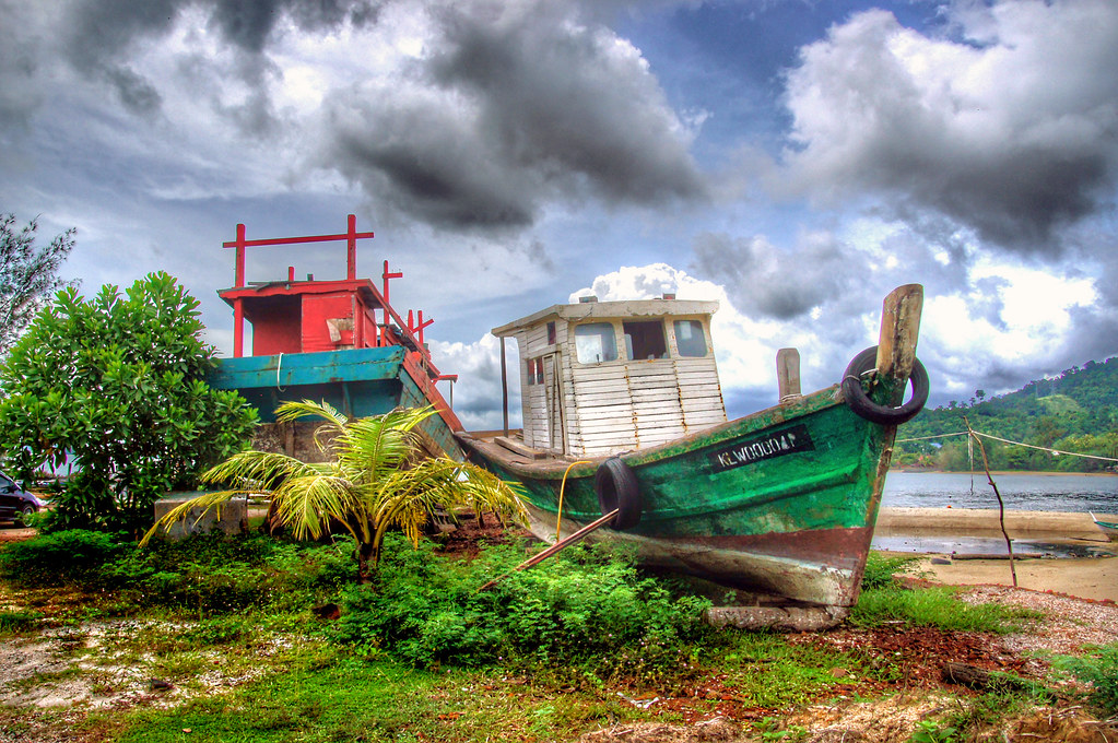 The old boat Langkawi.