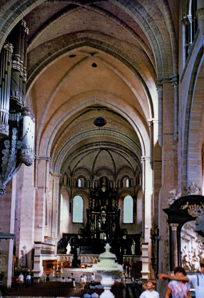Trier 1987 (13) Trierer Dom