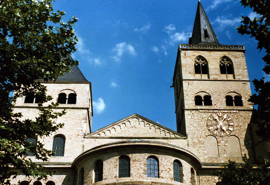 Trier 1987 (14) Trierer Dom