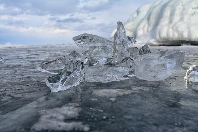 Лед на Байкал
