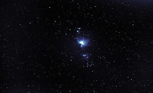 Primer intento de la Nebulosa de Orión (M42) (nebulosaOrion200mm)