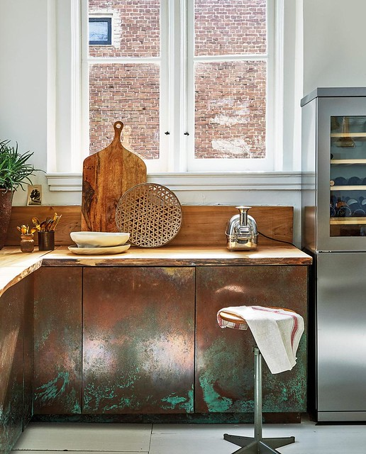 Copper Cabinets