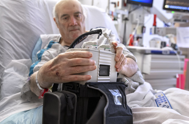 Penn State Health patient receives EVAHEART2 mechanical pump