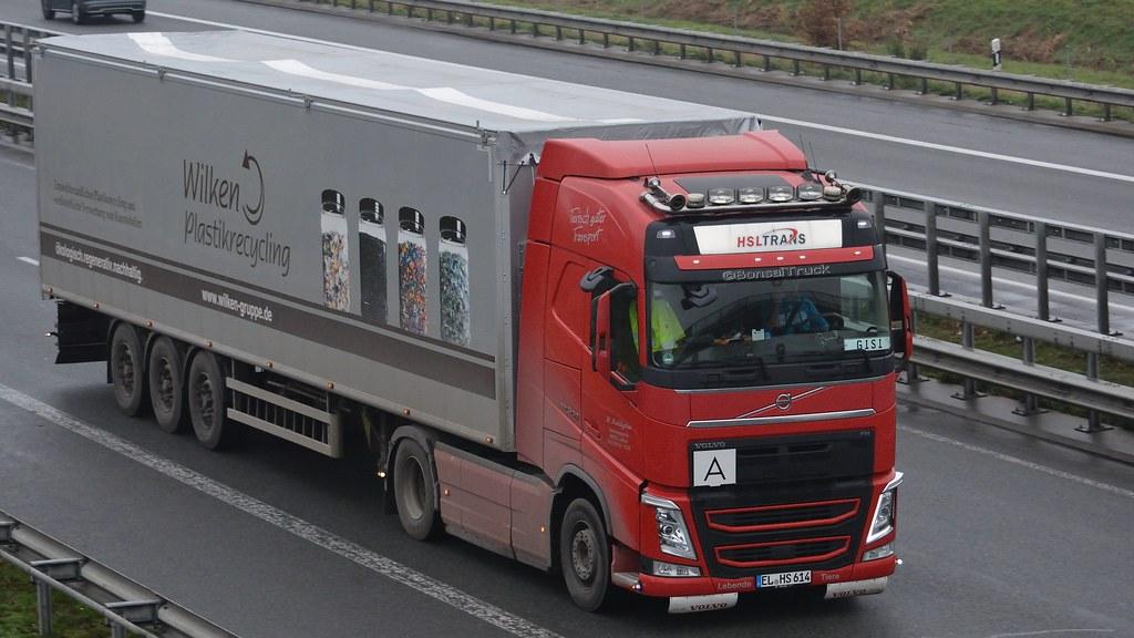 D - HSL Trans >Wilken Plastikrecycling< Volvo FH 500 GL04
