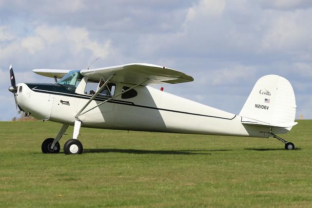 N2106V  -  Cessna 120 c/n 14627  -  EGBK 1/9/19