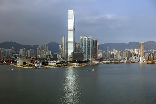 ICC & West Kowloon District, Hong Kong