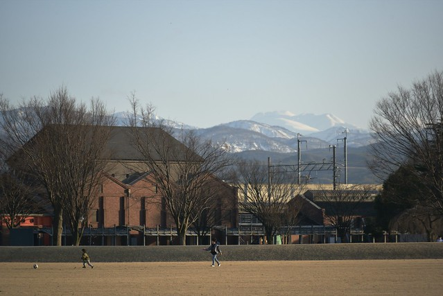 金沢市民芸術村からの白山