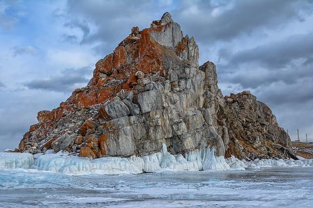 Rock on Baikal