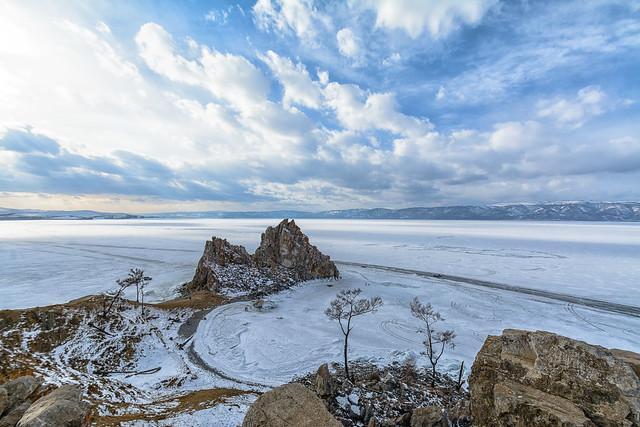Shamanka Rock Baikal
