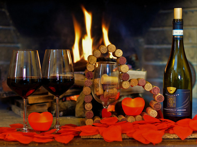 Wine and Love - Valentine's Day