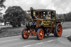 Len Wright Images posted a photo:	1932 Foden Steam Tractor