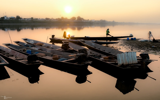 Mekong in Vientiane