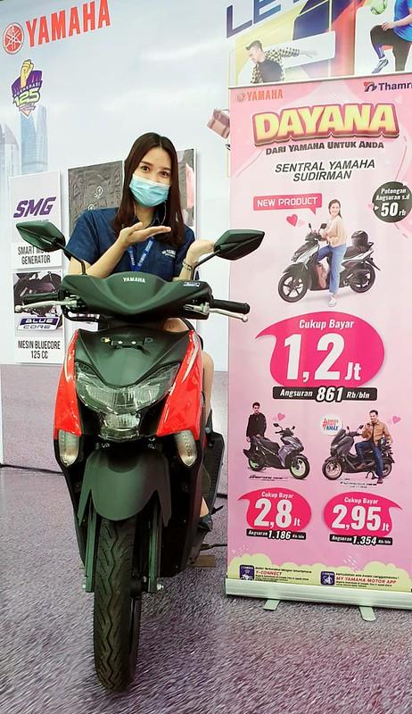 Promo Yamaha di bulan penuh cinta