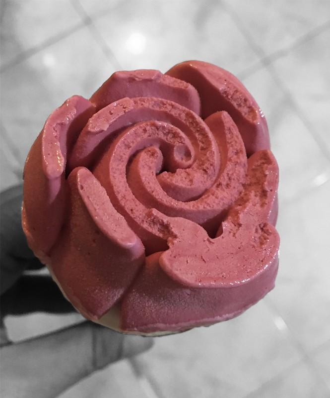 バレンタインエディション バラアイス