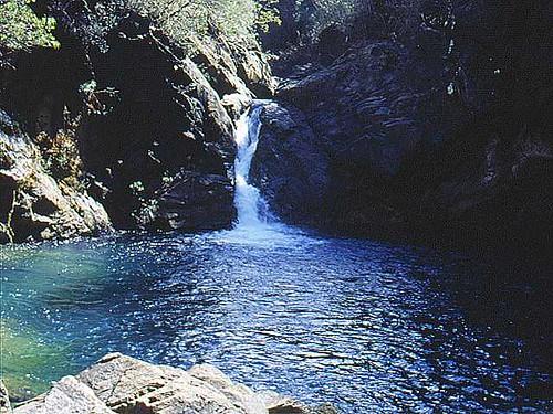 Cascada en el Parque Nacional Alejandro de Humboldt