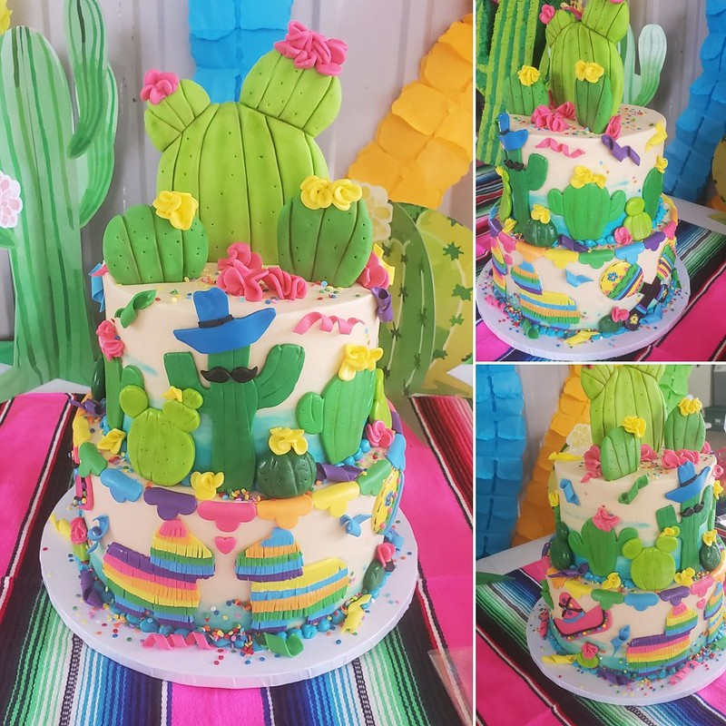 Cake from The Sweet Chic-A-Dee : Cakes by Tiffany
