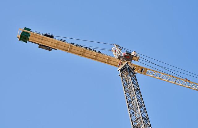 Katerra Construction Crane