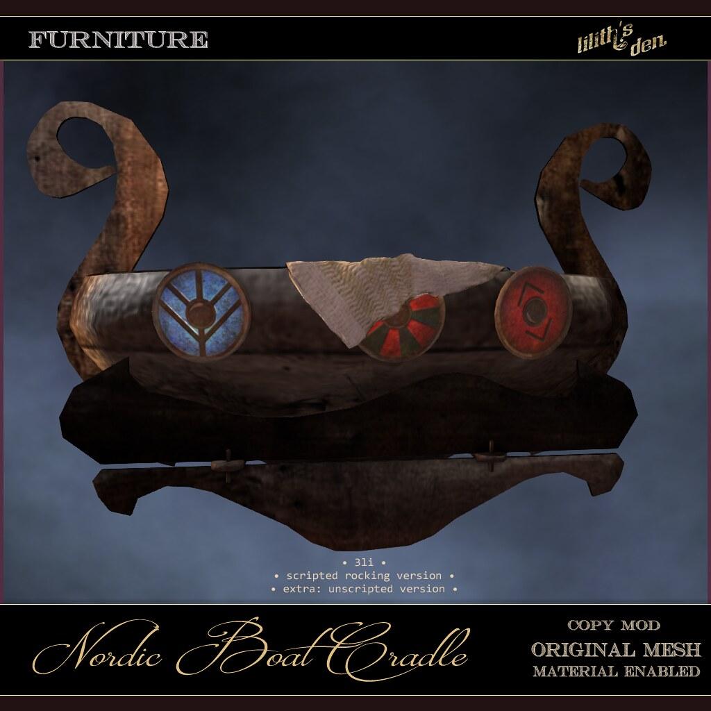Lilith's Den – Nordic Boat Cradle