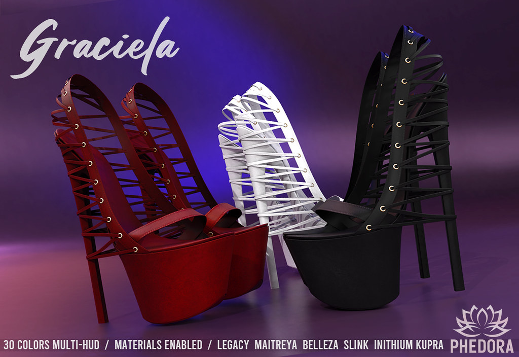 "Phedora. – ""Graciela Heels"" NEW RELEASE for The Saturday Sale ♥"