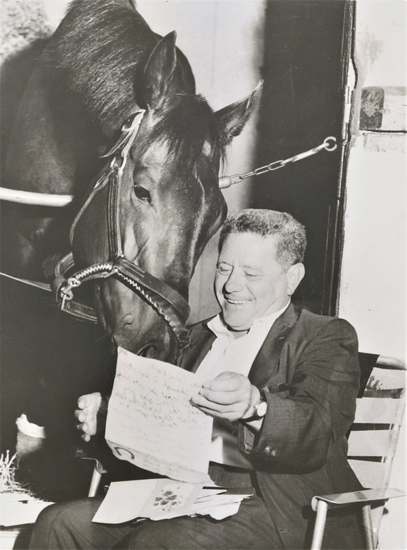 NYRA - Jack Price with Carry Back, 1962