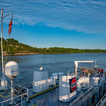 Hastings Lock and Dam on the Mississippi River