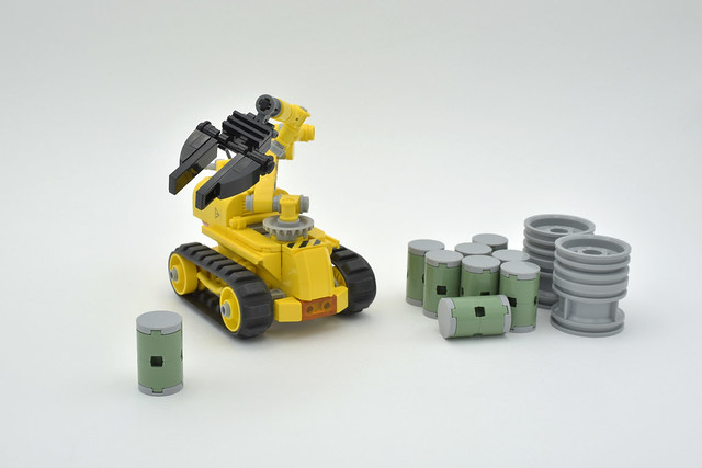 Lego robotic arm - atana studio