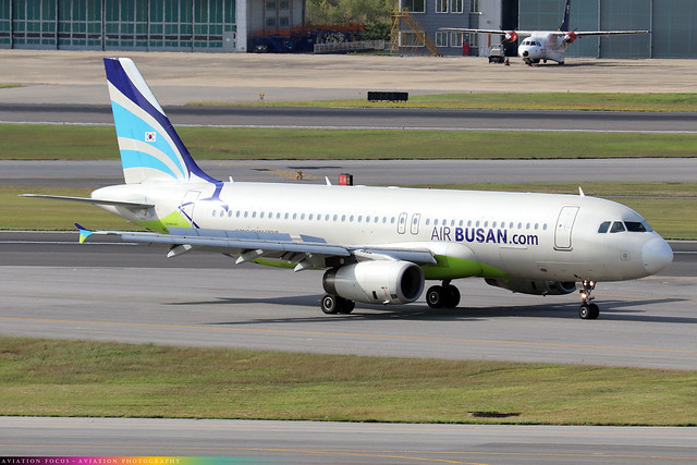 HL8055  -  Airbus A320-232  -  Air Busan  -  GMP/RKSS 6/10/19