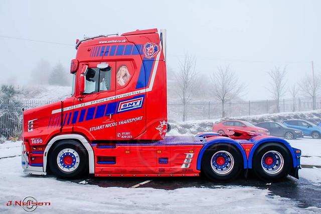 SNT's brand new Next Gen Scania T650 V8.