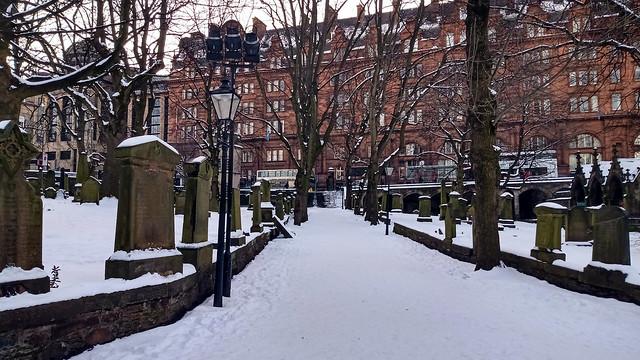 Snow Blankets the Slumbering Dead 01