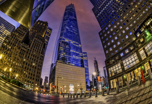 US...NYC...WTC...early morning...