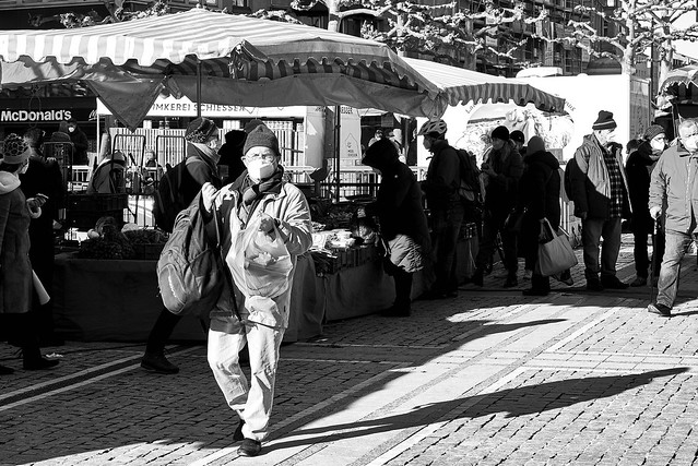 Markt/Market in Frankfurt/Konstablerwache (Deutschland/Germany)