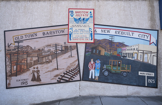 July 4th Mural Downtown Barstow