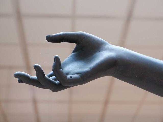 Camillo's hand