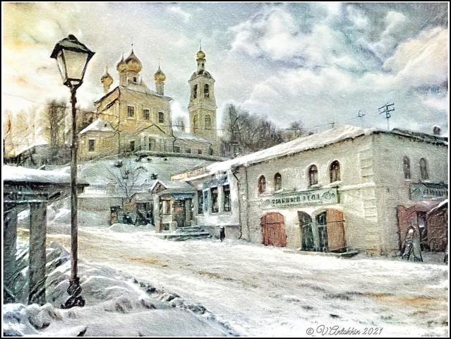 winter in Plyos. (iPhoneX)