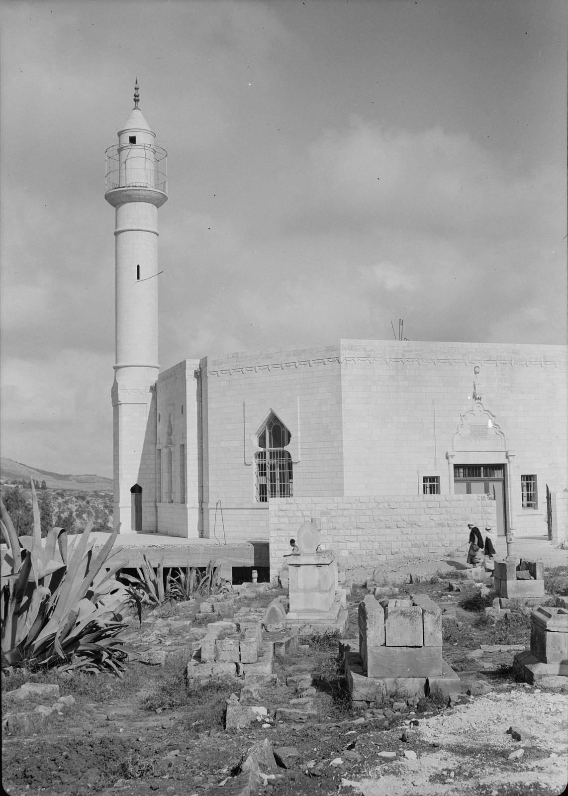 13. 1940. Шхем. Внешний вид новой мечети