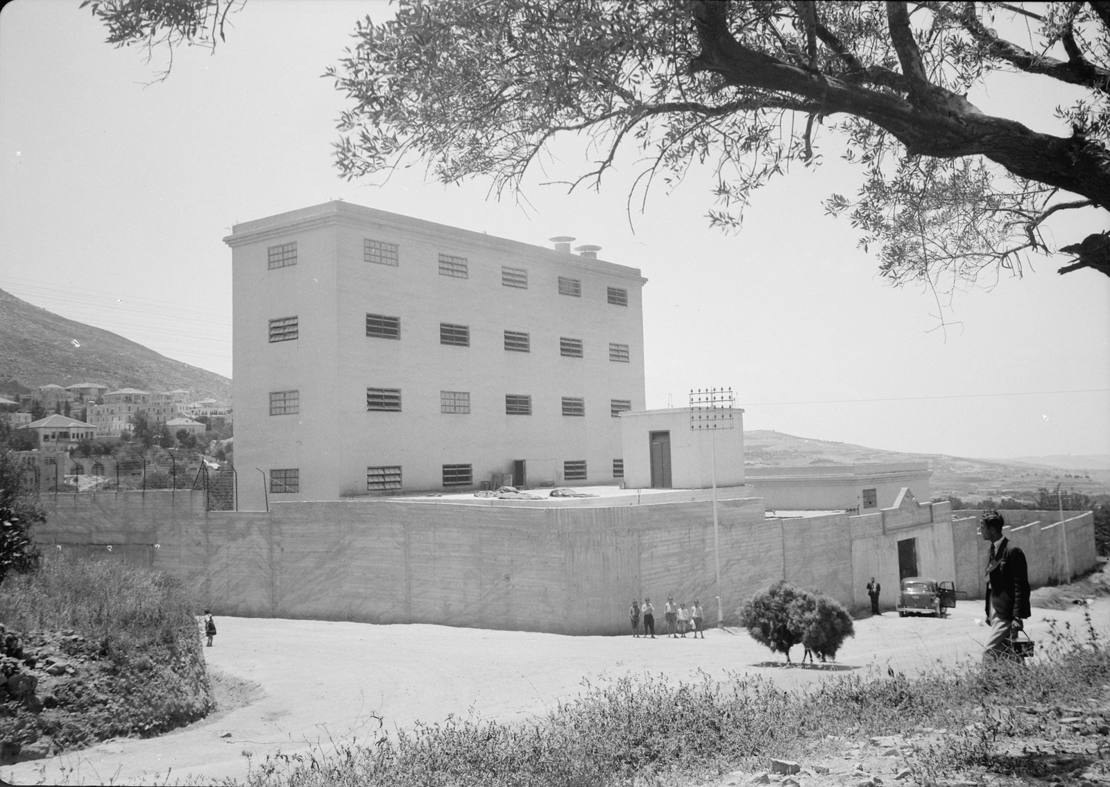 07. 1940. Шхем. The Naameh Flour Mills Ltd. Общий вид