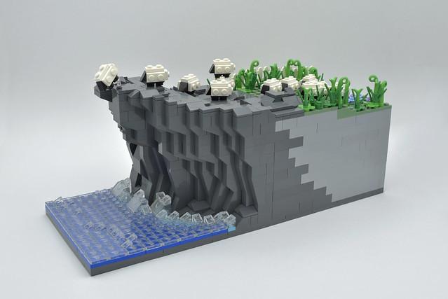 Lego Panurge sheep - atana studio
