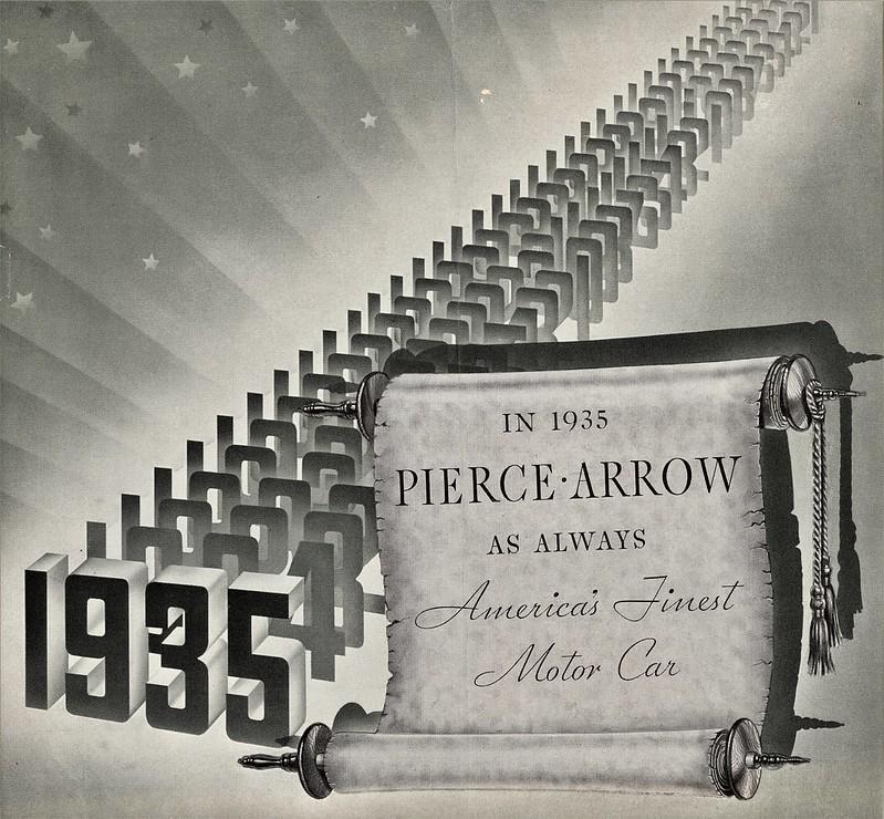 1935 Pierce-Arrow Brochure