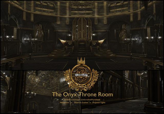 Spires Society - The Onyx Throne Room