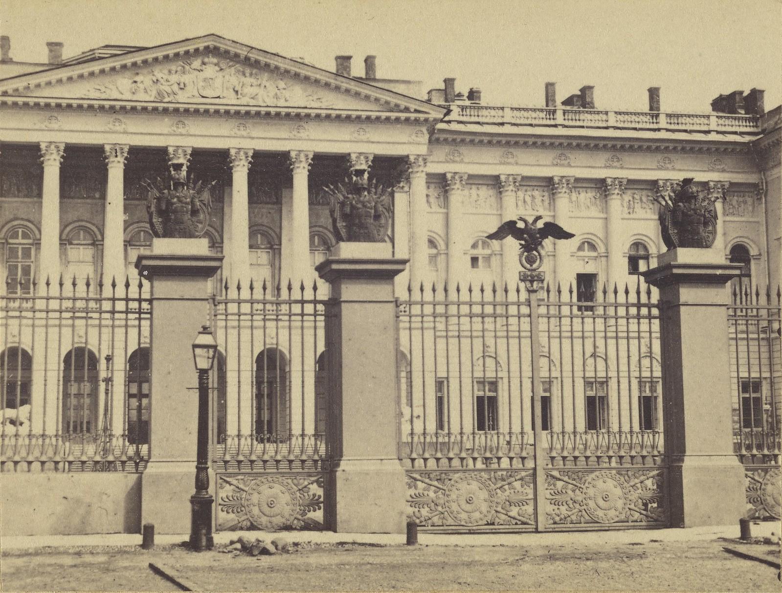 Михайловский дворец. 1857