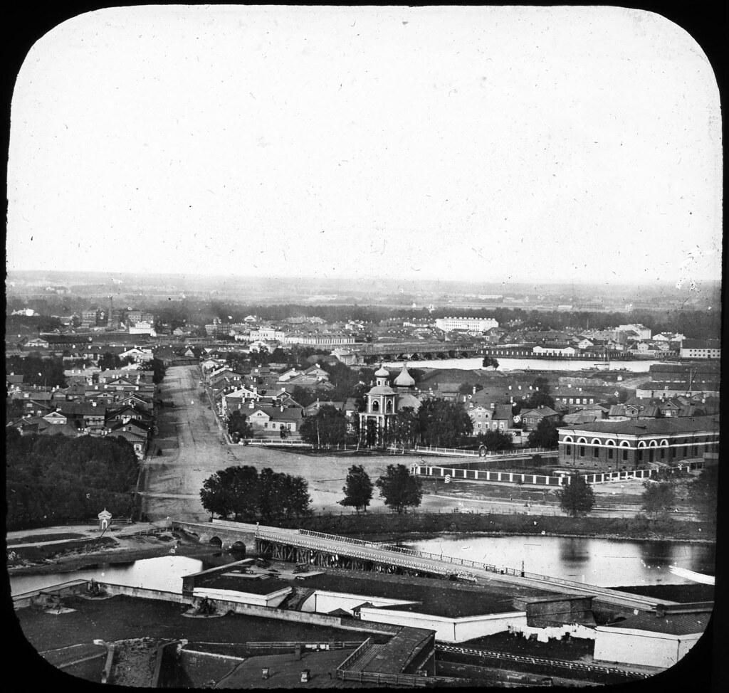 Вид на город. 1857