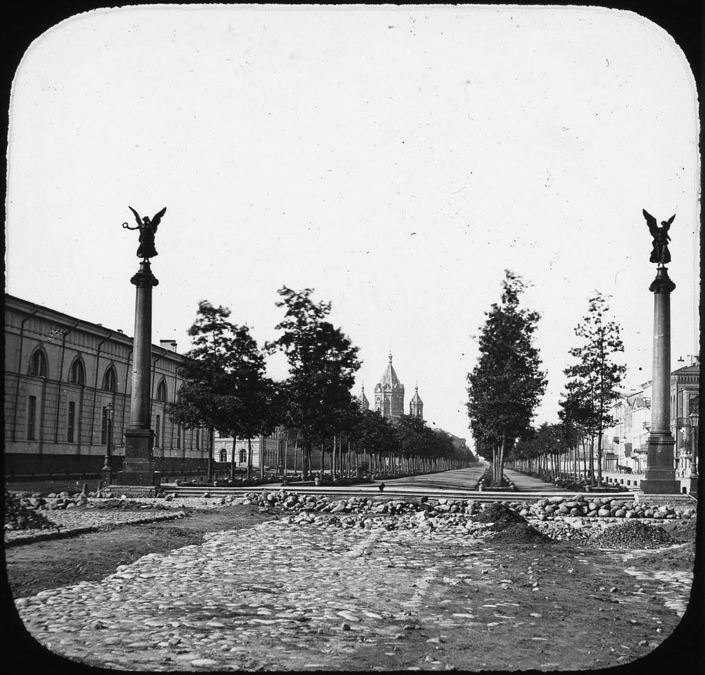 Конногвардейский бульвар. 1858